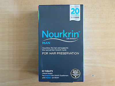 Nourkrin Man 60 Tablets For Hair Preservation  1 Months Supply