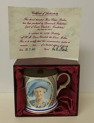 ROYAL CROWN DUCHY Cup QUEEN ELIZABETH Certificate Limited Edition 4th 1900
