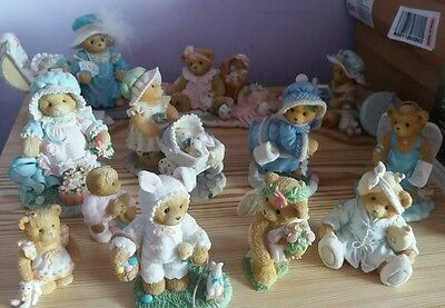 Cherished Teddies Collection of 12