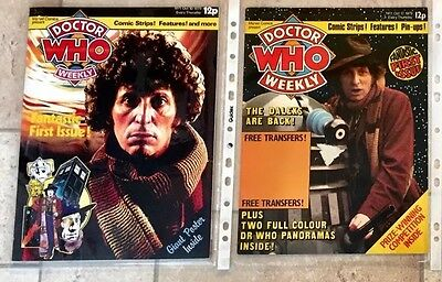 Doctor Who Weekly - The Mock Up Copy & 1st Dr Who Weekly Original Issue.