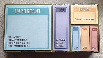 Knock Knock Stickies Set NEW! To Do Post-It Notes