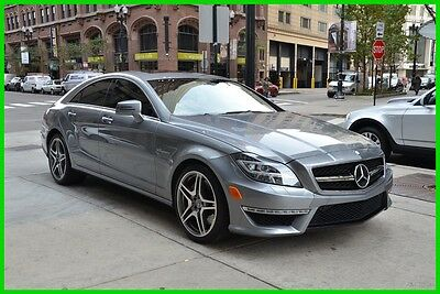 2012 Mercedes-Benz CLS-Class CLS63 AMG® NICE!! rudy@7734073227 2012 CLS63 AMG Used Turbo 5.5L V8 32V Automatic RWD Sedan Moonroof Premium