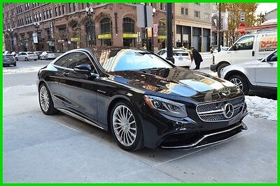 2015 Mercedes-Benz S-Class 2015 S65 AMG® LOADED!! BLACK/RED rudy@7734073227 2015 S65 AMG Used Turbo 6L V12 36V Automatic RWD Coupe Moonroof Premium