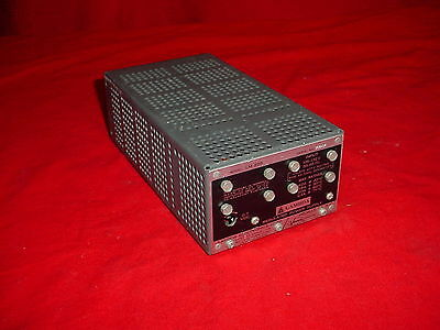 Lambda Electronics LM-225 Regulated Power Supply 105-132 V, 55-65 CPS