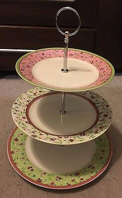 Porcelain Cake Stand - 3 Tiers - Brand New in Box
