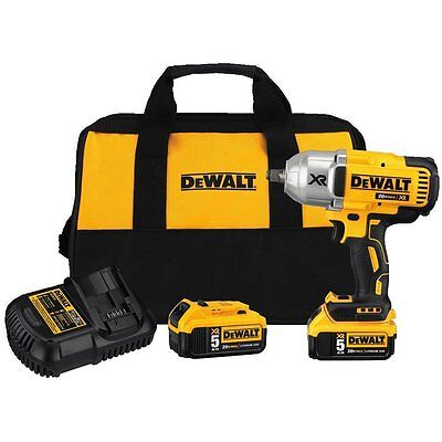 DEWALT DCF899HP2 20V XR High Torque 1/2 in. Impact Wrench Kit with HogRing Anvil