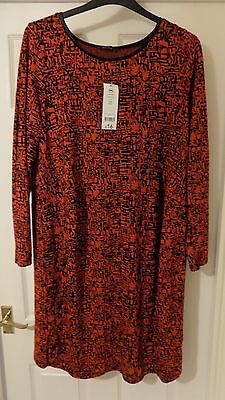 George long sleeved maternity dress size 20 BNWT
