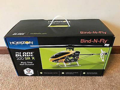 Brand New in Box Blade 200 SR X BNF RC Fixed Pitch Helicopter BLH2080 !!!