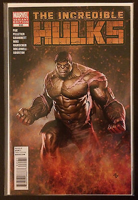 Incredible Hulks #635 Granov Hulk Variant 2011 Marvel Comic Book