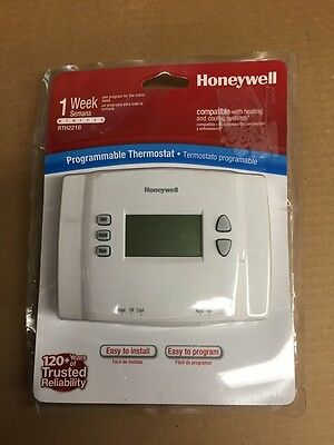 Honeywell Programmable A/c Thermostat
