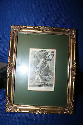 baxter's patent oil printing  print in frame