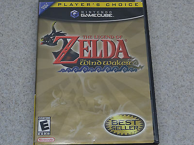 Legend of Zelda: The Wind Waker (Nintendo GameCube) Player's Choice Complete