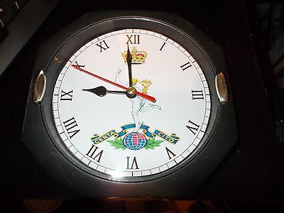 The Royal Corps Of Signals 130Mm Glass Front Wall Clock