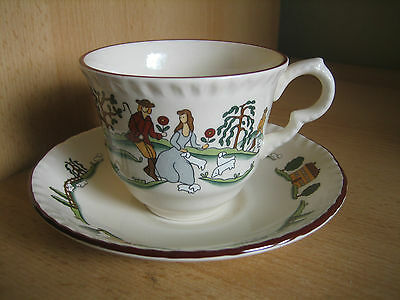 Masons 'country Lane' Cup And Saucer By Marsten Mandrajji