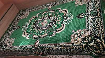 Lovely  Handmade Embroidered  Tablecloth WOOL With Multi-Colour Flowers59.2''