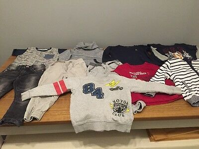 Boys Clothes Gap/marks And Spencer 10 Item Bundle Age 3