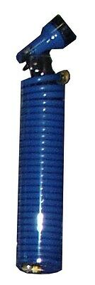 Orbit Blue 25' Coil Watering Hose with Spray Nozzle - Coil Garden Hoses - 27890