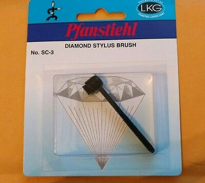 Pfanstiehl  Phono Cartridge Stylus Cleaner Cleaning Brush Styli  SC-3