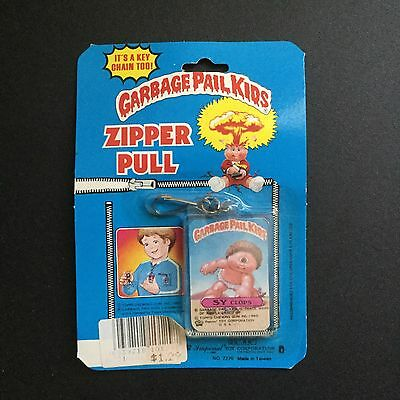 Vintage Garbage Pail Kids Sy Clops Zipper Pull Key Chain New Imperial