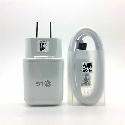 OEM LG Fast Adaptive USB Wall Charger Type C Cable for LG G5 G6 V10 V20 Nexus 6P