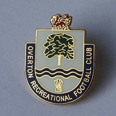 Overton Recreational Football Club Pin Badge - Wales