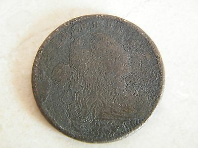 1802 Draped Bust Large Cent Liberty Coin