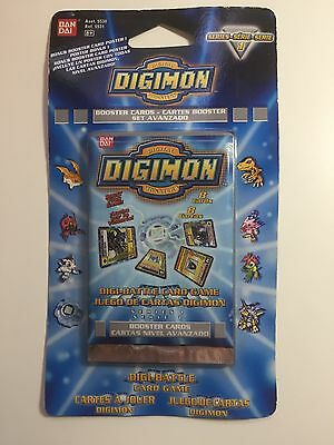 Digimon Booster Cards Serie 1 Englisch Blue Blaue Edition OVP Trading Cards
