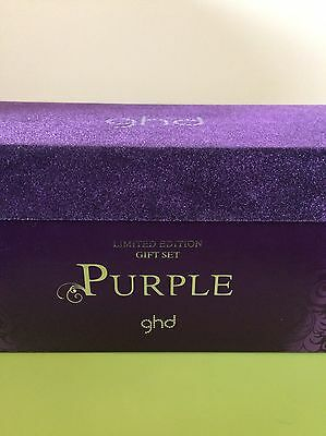 Limited Edition Purple GHD Travel Hairdryer, Case & Box