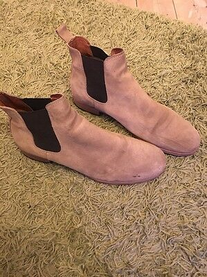 Mens Shoe The Bear Tan Suede Chelsea Boots Size 9/43