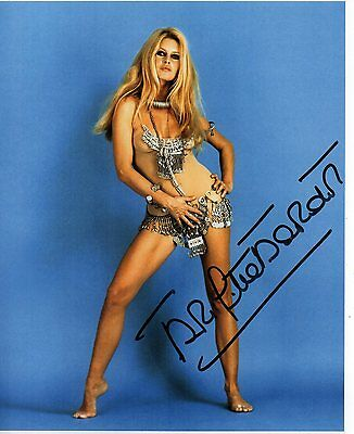 Brigitte Bardot  Authentic Hand  Signed 10-8  Photo