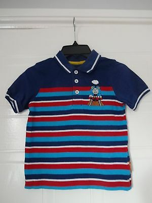 Boys Mothercare Thomas and Friends blue top age 3-4 years