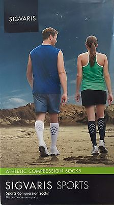 SIGVARIS 401C  Athletic Compression Sports RECOVERY Socks 15-20mmHg