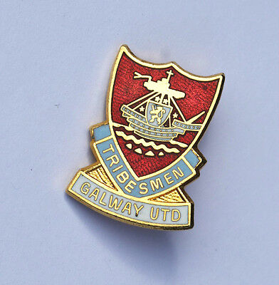 Galway United Football Club Pin Badge.