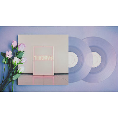 The 1975 I Like it When you Sleep DOUBLE CLEAR Vinyl LP SEALED