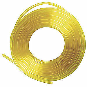 E. JAMES PVC Tubing,Fuel And Lubricant,1/2 In OD, 1512-375500-100