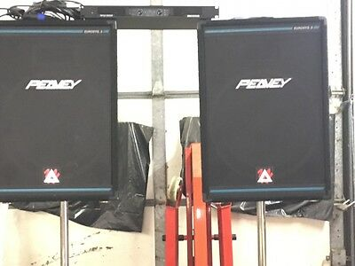 peavey stage speakers and extras