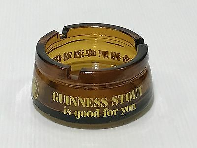 Vintage 70's GUINNESS STOUT is good for you Ashtray