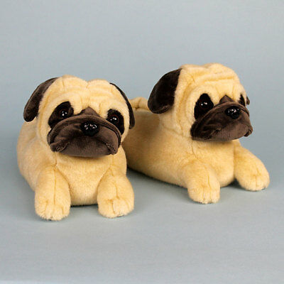 Pug Slippers - Dog Slippers - for Men & Women
