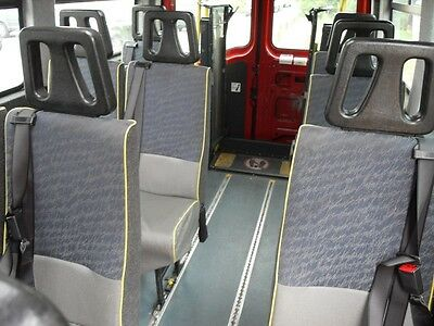 Mini bus / van seats (up to 8 available)