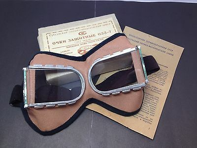Russian Vintage Goggles in original box  made in USSR