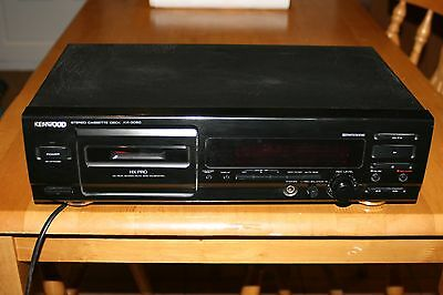 Kenwood KX-3060 cassette deck separate with original box and instructions