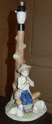 "Nao Table Lamp Stand  ""shepherd Boy With Sheep"""