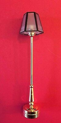 1:24 Scale Working LED Battery Standard Lamp Dolls House Miniature No Electrics