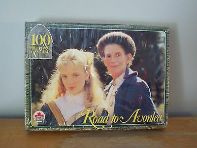 Rare 1995 Sealed Road To Avonlea 100 Piece Jigsaw Puzzle - Canada Games