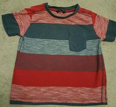 Boys George Striped t-shirt. Age 2-3 Years