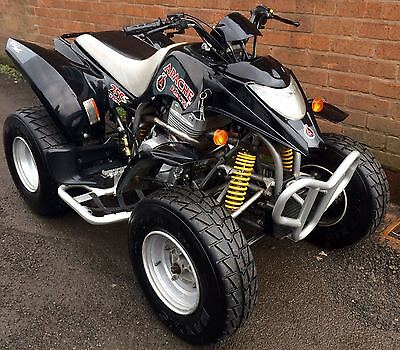 Apache Rlx 250, 07/2007, Road Legal Quad Bike, 5 Months Mot.