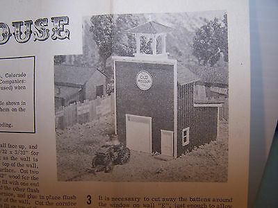 Campbell Scale Models HO scale 1875 Firehouse Kit #355