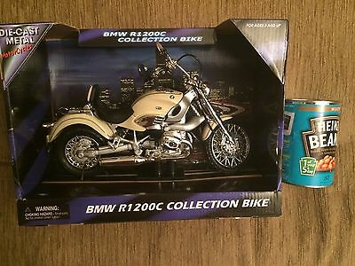 BMW R1200C Collection Bike,  Scale 1:9, Die Cast Model - NEW