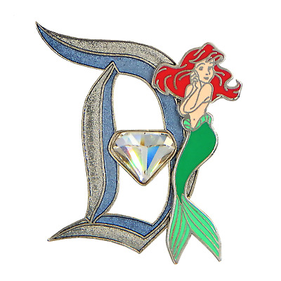 Walt Disney World Park Trading Pin Ariel - 60th Anniversary Diamond Celebration