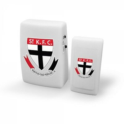 St Kilda Saints Official AFL Wireless Musical Door Bell FREE POST